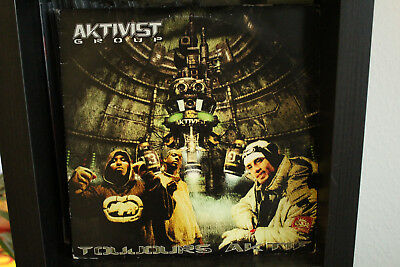 Aktivist Group - Toujours Aktif/  3LP Clear Hiphop Vinyl limited edition France