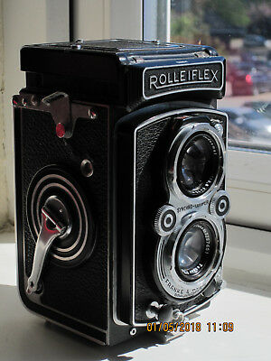 Rolleiflex Automat Model K4a 75mm f/3.5 TLR