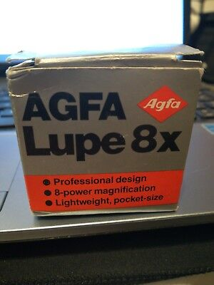 AGFA Lupe 8x Photography Equipment