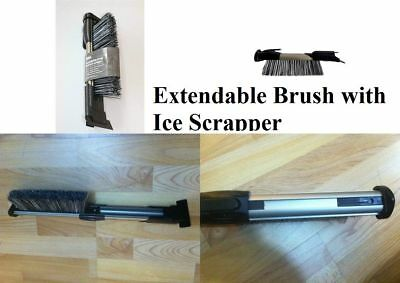 Ice Scraper Car Brush Extendable Length Extra Blade for Ice Cleaning NO SCRATCH