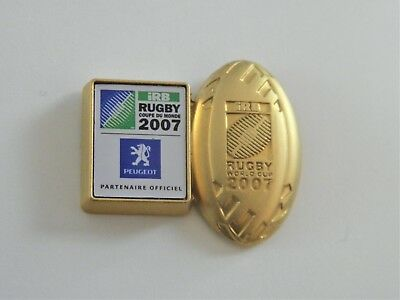 Pins  Rugby  Irb Rugby World Cup 2007 Superbe ( Arthus Bertrand )