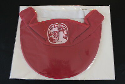 1981 National Jamboree Red Visor