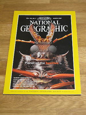 National Geographic March 1998