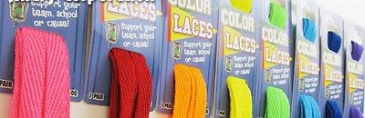 """Pack of 16 Pairs Assorted HOT COLOR 54"""" SHOELACES"""