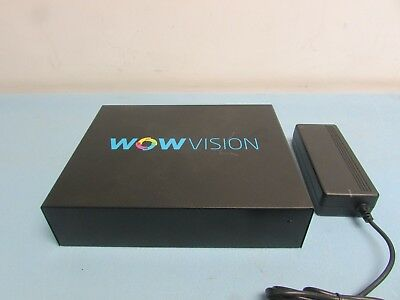 Wow Vision w/Power Supply. Condition Good. Pre-Owned. (B2A)