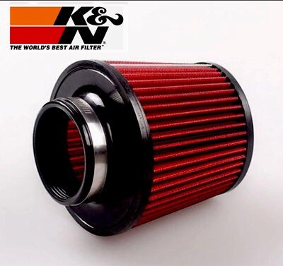 Universal K&N Cold Air Filter Intake Induction Kit  Cone Shape 76mm 3 Inch