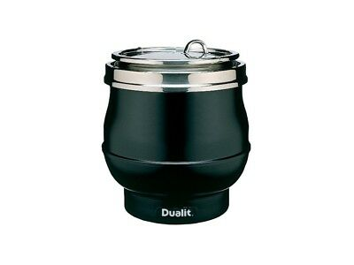 Dualit 70012 Black 11L Wet or Dry Heat Hotpot Soup Kettle (Boxed New)