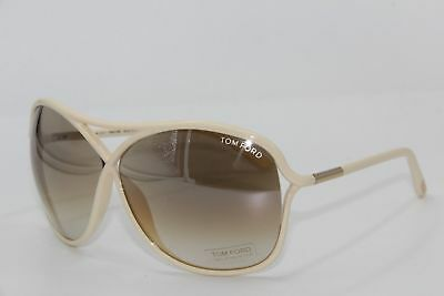 New Tom Ford Tf 184 25G Vicky Beige Gradient Authentic Sunglasses W/case 65-10