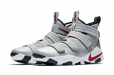 9ded4b3c4ccd LeBron Soldier XI SFG Silver Bullet Basketball Shoes 897646-007 SHIPS  DOUBLE BOX