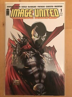 Image United 1 - Spawn Cover - 2nd Print