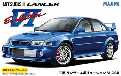 Fujimi ID-102 1/24 Mitsubishi LANCER EVOLUTION VI GSR from Japan Rare