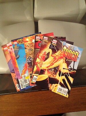 Uber Hot Human Torch & The Torch Various Issues Includes Variant