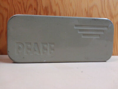 Vintage Pfaff Sewing Machine Accessory Tin Case