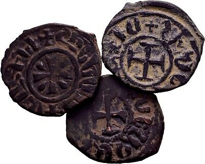 Cilician Armenia, Lot of 3 Selected Excellent Coins,