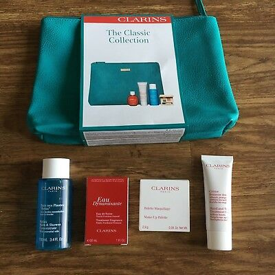 CLARINS  CLASSIC COLLECTION GIFT SET Relax, Hand Cream, Eau Dynamisante, Palette