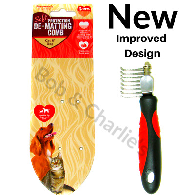 Rosewood Professional Salon Quality Dematting Comb