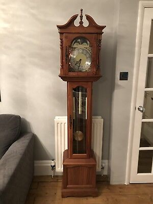 Grandfather Emperor Clock Model 101 High Pallet Bridge, Full Westminster Chimes