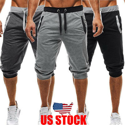 Summer Men Gym Sports Jogging Shorts Pants Trousers Casual beach Cool US STOCK