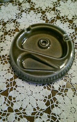 Vintage Irish Wade Co Armagh Porcelain Inkwell/Ashtray