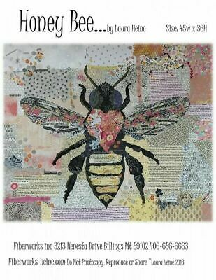 Laura Heine Honey Bee Collage Pattern