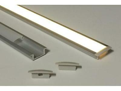 Slim Recess Line LED Strip Mounting Profile 2 metre length