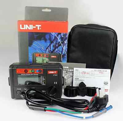 UNI-T UT582 Digital Multimeter RCD ELCB Tester AUTO RAMP Leakage Circuit Breaker