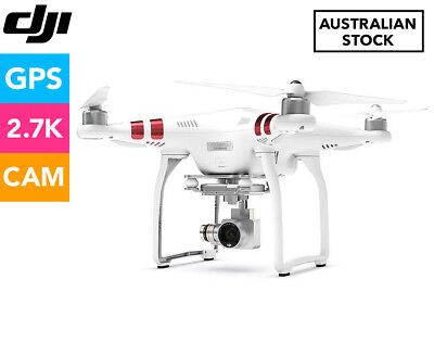 DJI Phantom 3 Standard Drone w/ Camera - White
