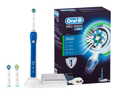 Oral-B Pro 3000 Rechargeable Electric Toothbrush Kit