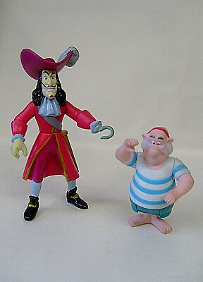 Peter Pan Captain Hook And Smee Figures