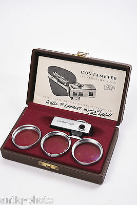 Contameter for contax with case original and manual d'statement