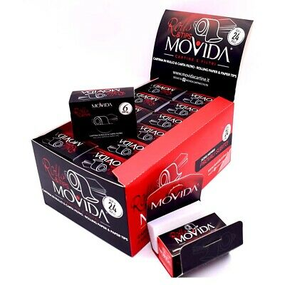 MO*VIDA Natural Organic Rolls Papers 5 Rolls Tobacco Rolling Papers & tips