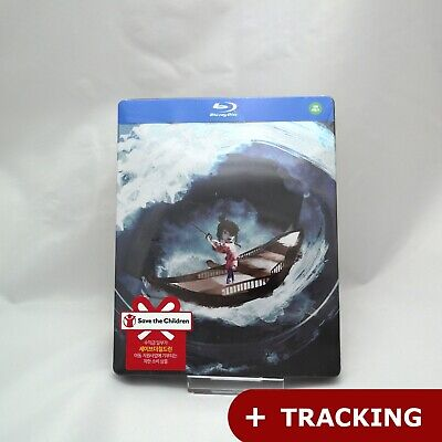 Kubo And The Two Strings (2018, Blu-ray) Steelbook / Korean Edition