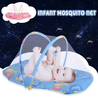 2 Colors Portable Creative Foldable Infant Mosquito Net Summer Travl Toddler