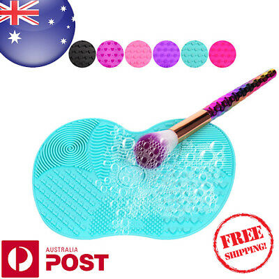 Silicone Makeup Brush Cleaner Washing Scrubber Board Cosmetic Cleaning Mat Z712F