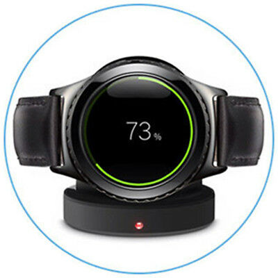 Original Black Charging Cradle Smart Watch Charger Dock For Samsung Gear S3 S2