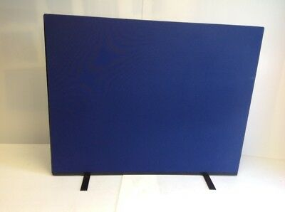 1500W x 1200H Royal Blue Woolmix PanelWarehouse Office Screen Divider Partition