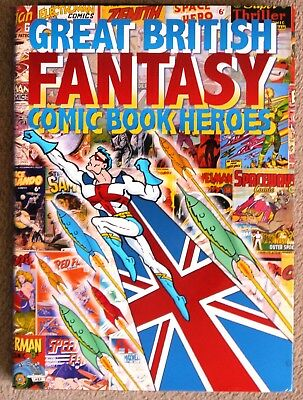 Great British Fantasy Comic Book Heroes By Ugly Duckling Press