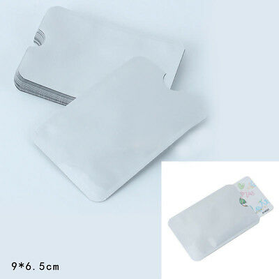 20x Credit Card Holder Protective Case Shield RFID Blocking Secure Sleeves Nice