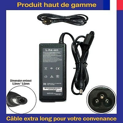 Chargeur d'Alimentation 19V 3.42A 65W Pour ASUS X550LB-NH52 EXA1208EH EXA1208UH