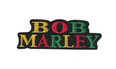 BOB MARLEY RASTA Iron on / Sew on Patch Embroidered Badge Music PT265