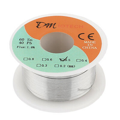 0.5mm 50G 60/40 Rosin Core Tin Lead Roll Soldering Solder Wire Reel