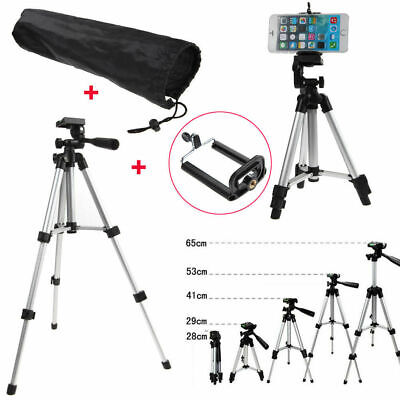 UK Tripod Stand Mount Holder For Digital Camera Camcorder Phone iPhone DSLR SLR