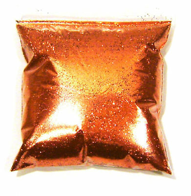 "15oz / 444ml Bright Orange Metal Flake .015"" Auto Paint Additive Flakes LF0715"