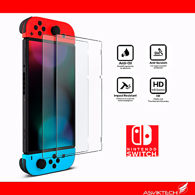 Protector De Pantalla Cristal Templado Para Nintendo Switch Tempered Glass