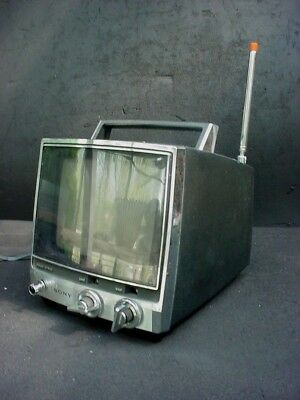 Vintage Sony Television Model TV-760 Made in Japan