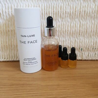 TAN LUXE THE FACE 2ML sample