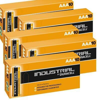 50 Duracell Industrial AAA Alkaline Batteries Replaces Procell MN1500 1.5V LR03