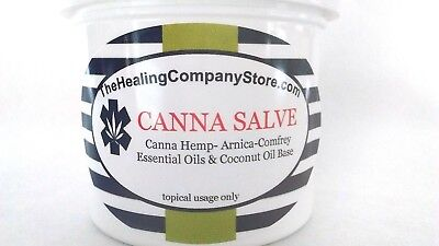 CBD Canna Hemp Cannabis Sativa Pain Relief Balm Salve  2 oz
