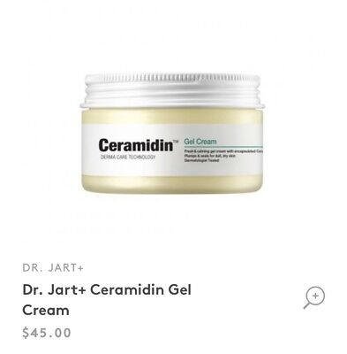 Dr. Jart+ Ceramidin Gel Cream 90ml/3.0 fl oz. Brand New
