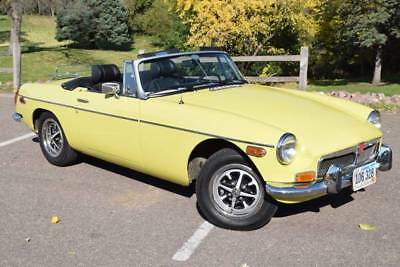 MGB -- 1974 MG MGB Long Term ownership Restored High Quality Driver Trades Welcome